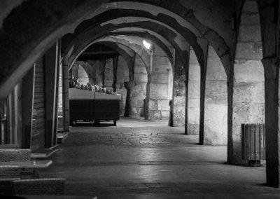 Arcades rue Filaterie dans le vieil Annecy