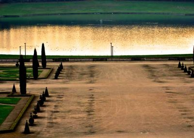 Bassin du jardin du château de Versailles