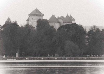 Château et lac d'Annecy