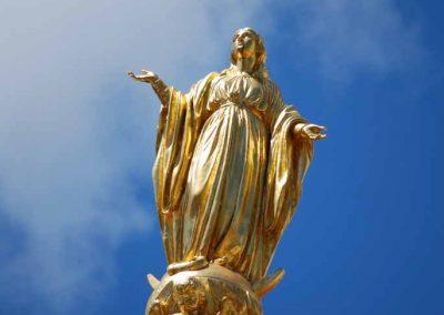 Clocher de la cathédrale d'Annecy