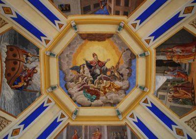 Peinture église Saint Nicolas de Véoce