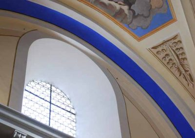 Intérieur église Saint Nicolas de Véoce