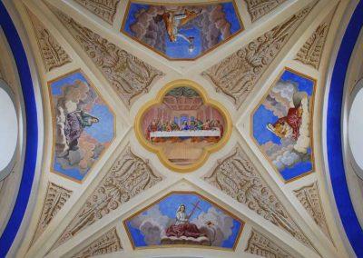 Plafond église Saint Nicolas de Véoce