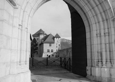 Entrée du château d'Annecy