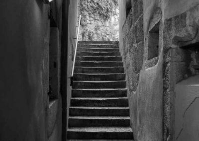 Escalier dans le vieil Annecy