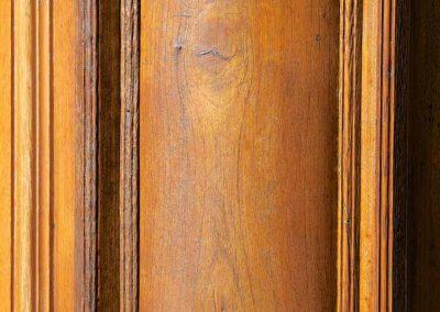 Façade en bois dans le vieil Annecy