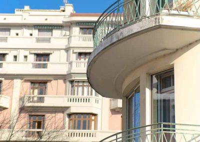Façade d'un immeuble dans Annecy