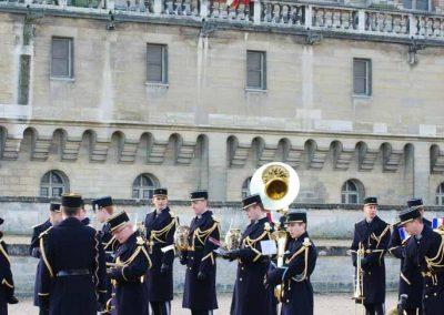 Fanfare dans le parc du château de Saint-Germain-en-Laye