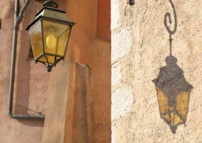 Lanterne dans le vieil Annecy