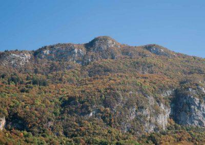Le Mont Baret depuis Veyrier-du-lac