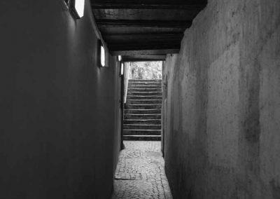 Passage vers rampe du château Annecy