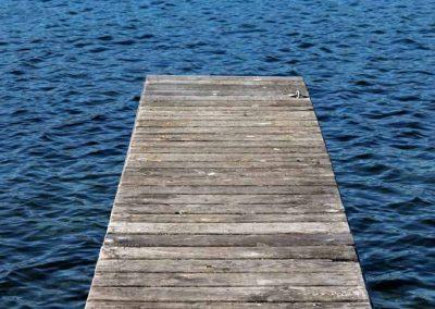 Un ponton à Veyrier-du-Lac