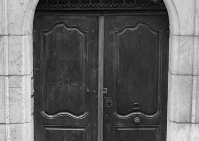 Porte cochère dans le vieil Annecy