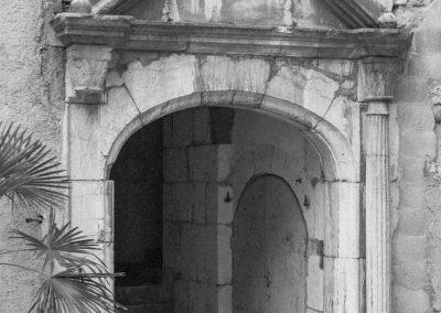 Cintre en pierres dans le vieil Annecy