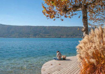 Les berges à Veyrier-du-lac