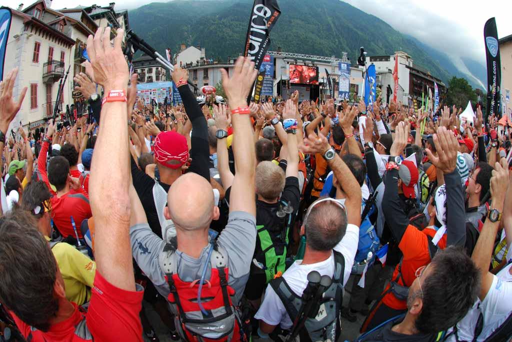 Reportage photo et visite virtuelles au cours de l'Ultra Trail du Mont-Blanc