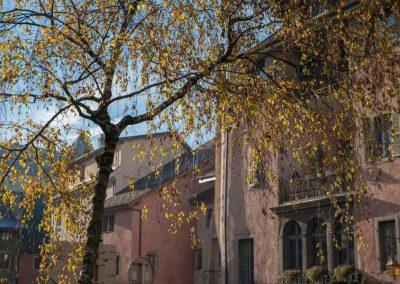 Rue du collège chappuisien à Annecy