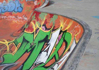 Skatepark des marquisats à Annecy