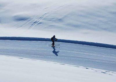 Ski alpin au col de Voza