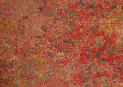 Texture métallique rouge
