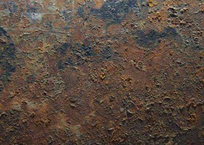 Texture métallique rouille