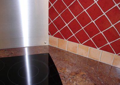 Surface de cuisine en marbre