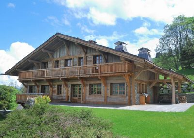 Chalet d'exception à Megève