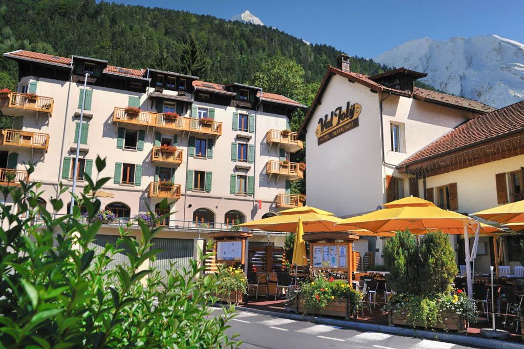 Hotel Val Joly à Saint Gervais les Bains au pied du Mont-Blanc