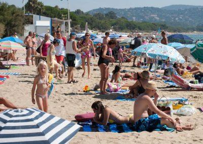 La plage de Cavalaire dans le Var