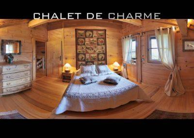Chalet savoyard à Saint Gervais les Bains au pied du Mont-Blanc