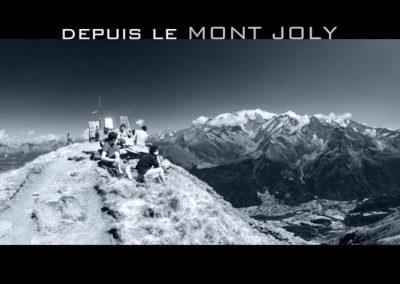 Le Mont Joly à Saint Gervais les Bains