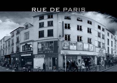 La rue de Paris à Saint-Germain-en-Laye