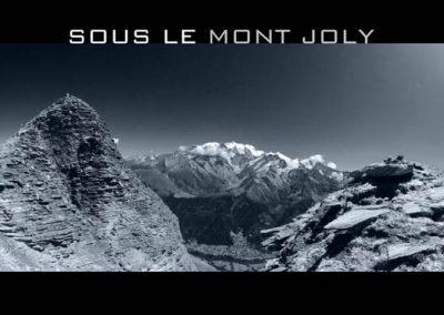 Le sommet du Mont Joly
