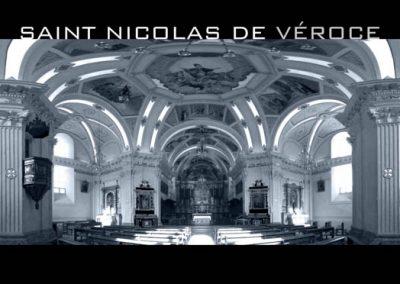 L'église de Saint-Nicolas de Véroce