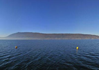 Le lac d'Annecy depuis le port de Veyrier-du-Lac