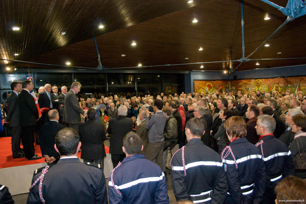 Reportage photo pour la remise de la légion d'honneur à Jean-Marc Peillex